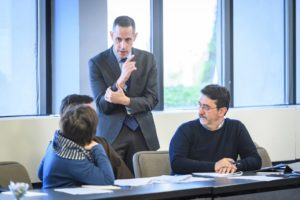 Michael Castrilli Teaching a Course to Students from the Pontifical Lateran University in Rome, Italy